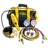 Image CPS KTBLM4 AC Tool Kit Leak Detector and 134A Manifold Gauge Set