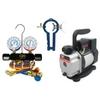 Image CPS VP2SKIT Vacuum Pump, 134A Manifold Gauges & Can Tap