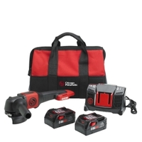 "Image Chicago Pneumatic 8941083454 4.5"" 4.0Ah Cordless Angle Grinder Pack"