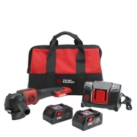 Image Chicago Pneumatic 8941083456 4.5IN 6.0Ah Cordless Angle Grinder Pack