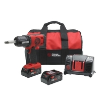 "Image Chicago Pneumatic 8941088496 20V 1/2"" Cordless Impact w/2"" Anvil Kit-4"