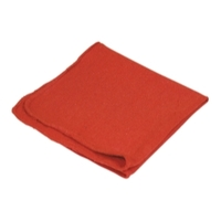 Image Carrand 40047 10PK SHOP TOWEL 13X14 RED