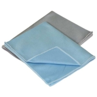 Image Carrand 40064 2 pk Glass Microfiber Towel 12 x 16 (80/20 Blend)