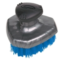 Image Carrand 92014 Deluxe Tire Brush w/ Flow-thru pole thread