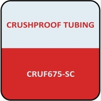 "Image Crushproof Tubing F675-SC Adapter TL 3"" x 11"" w/Suction"