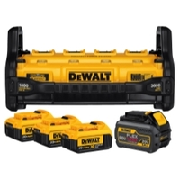 Image Dewalt Tools DCB1800M3T1 PORTABLE POWER STATION (W/3 4AH AND 1 6AH BAT)