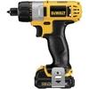 Image Dewalt Tools DCF610S2 12 volt LIthium Ion Screwdriver Kit
