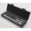 Image E-Z Red 412SS 33 piece bit, socket set in a blow molded case