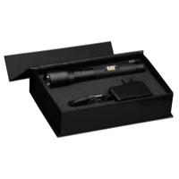 Image E-Z Red CT12356PB CAT- T6 RECHARGEABLE FLASHLIGHT GIFT BOX