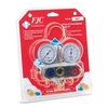 Image FJC, Inc. 6697 R134A Aluminum Dual Manifold Gauge Set