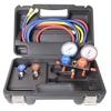 Image FJC, Inc. 6766P R134a Aluminum Block Manifold Gauge Set