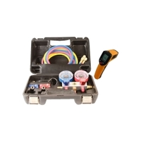 Image FJC, Inc. KIT6850 R1234yf Manifold set with FREE Thermometer