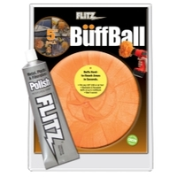Image Flitz PB101-50 5 Inch Large Buff Ball with Free Flitz Polish 1.76