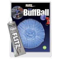 Image Flitz WB201-50 7 Inch X-Large Buff Ball with Free Flitz Polish 1.