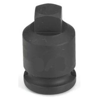 "Image Grey Pneumatic 1009PP 3/8"" Drive x 9/32"" Square Male Pipe Plug Socket"