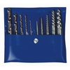 Image Hanson 11117 Spiral Extractor Set 10PC Screw/Cobalt Drill Set