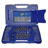 Image Hanson 1813817 116pc Tap/Die/Drill Deluxe Set with PTS Handle