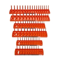 Image Hansen Global 92002 Socket Tray Six Pack - Orange