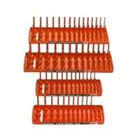 Image Hansen Global 92005 Hansen Global Socket Holder, Orange (4-Pack)