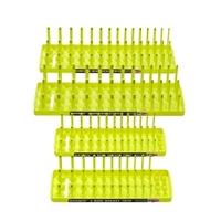 Image Hansen Global 92006 Hansen Global Hi-Viz 4-Pack Socket Holder, Yellow