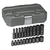 "Image KD Tools 84900 20 Pc. 1/4"" Drive Impact Socket Set SAE"