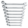 Image KD Tools 85498 SAE Indexing Combination Wrench Set 8 Pc.