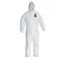 Image Kimberly Clark 46113 Hooded Coverall  Lg