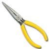 """Image Klein Tools D203-7 LONG NOSE PLIERS, SIDE CUTTERS, 7-1/8"""""""