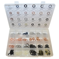 Image K Tool International DY-DGK-240 Master Drain Plug Gasket Assortment Kit