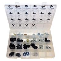 Image K Tool International DY-DPA-6 Drain Plug & Gasket Assortment Kit