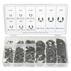 Image K Tool International KTI-00072 300 Piece E-Clip Assortment