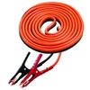 Image K Tool International 74510 16' Medium Duty 6 Gauge Cables with 400 Amp Clamps