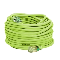 Image Legacy Manufacturing 722-123100FZL5L Flexzilla Pro 12/3 100FT Extension Cord
