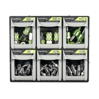 Image Legacy Manufacturing A53000FZK1 Flexzilla Pro High Flow Accessory Bin Kit, 1/4&q