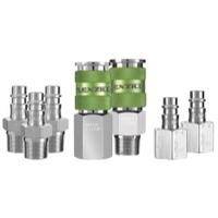 Image Legacy Manufacturing A53657FZ Flexzilla High Flow Coupler & Plug Kit, 7 pc