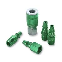 "Image Legacy Manufacturing A71456B B 5pc 1/4"" Green Coupler & Plu"