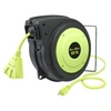 Image Legacy Manufacturing E8140503 50' Electrical Cord Reel, 14-3AWG with Triple Tap