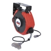 Image Lincoln 91029 50'  HD Extension Cord Reel w/ Lighted T-Tap
