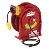 Image Lincoln 91030 Heavy Duty Extension Cord Reel 13 amp Receptacle