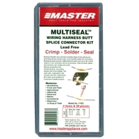 Image Master Appliance 11823 50PC Crimp, Solder & Seal Butt Splice Minipak