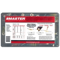 Image Master Appliance 11824 135PC Crimp, Solder & Seal Connector Kit