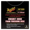 "Image Meguiars S6F3000 Unigrit 6"" P3000 Foam Finishing Disc - 15 pack"