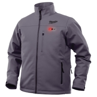 Image Milwaukee Electric Tools 201G-21XL Milwaukee M12 Heated Jacket Kit - Gray