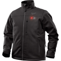 Image Milwaukee Electric Tools 202B-21XL M12 HEATED TOUGHSHELL JACKET KIT XL (BLACK)