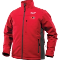 Image Milwaukee Electric Tools 202R-21XL M12 HEATED TOUGHSHELL JACKET KIT XL (RED)