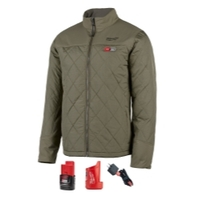Image Milwaukee Electric Tools 203OG-213X Milwaukee M12 Heated Axis Jacket Kit, Size 3