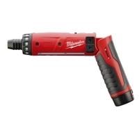 "Image Milwaukee Electric Tools 2101-21 M4 1/4"" Hex Screwdriver Kit (1 Bat)"