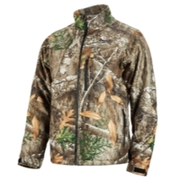 Image Milwaukee Electric Tools 222C-21XL M12 HEATED QUIETSHELL JACKET KIT XL (REALTREE