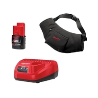 Image Milwaukee Electric Tools 2322-21 M12 CRDLS BLACK HEATED HAND WARMER KIT