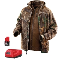 Image Milwaukee Electric Tools 2387-S M12 Realtree Xtra Camo 3-in-1 Heat. Jacket Kit-